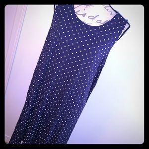Old Navy Sleeveless Polka Dot Dress